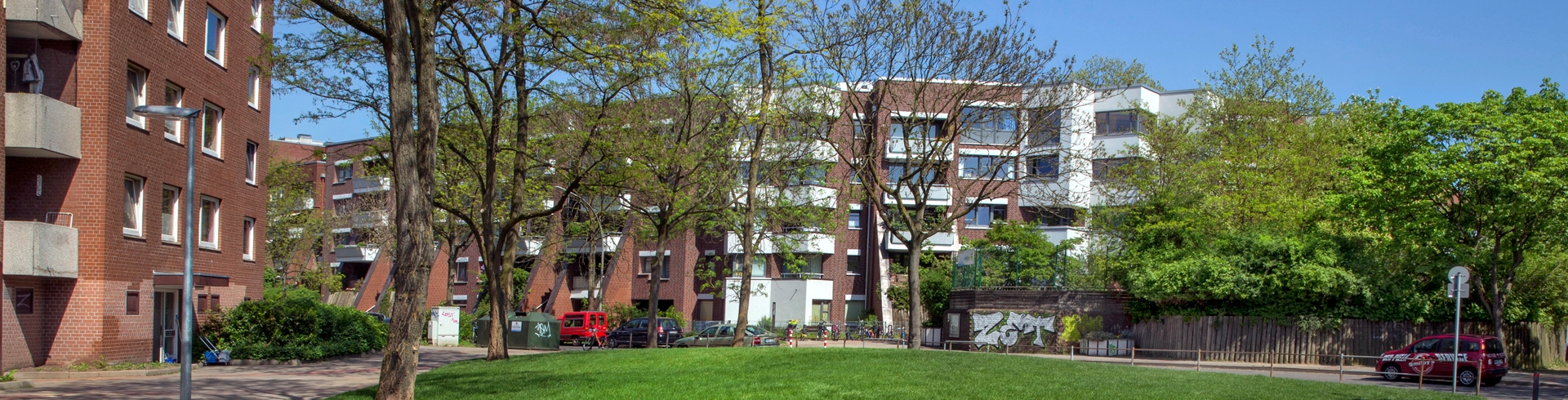 Otto Wulff Housing Improvement District Steilshoop Hamburg